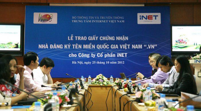Nhà đăng ký tên miền iNET là gì?