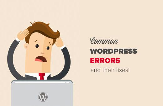 Sửa những lỗi wordpress phổ biến hay gặp nhất?