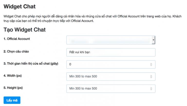 tích hợp zalo chat vào website3