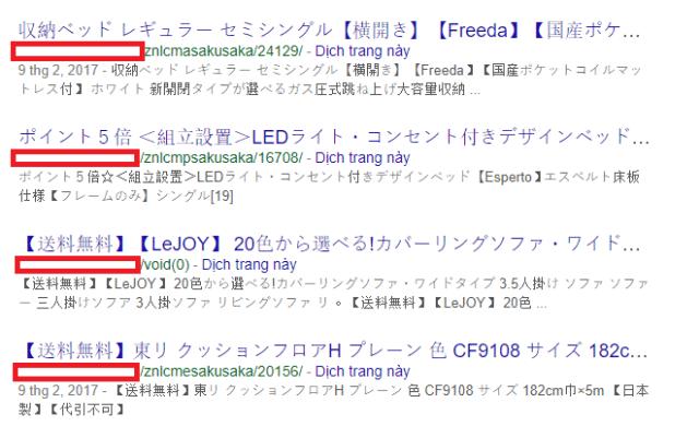 Gỡ bỏ mã độc cho website wordpress và xóa index tiếng Nhật trên Google5