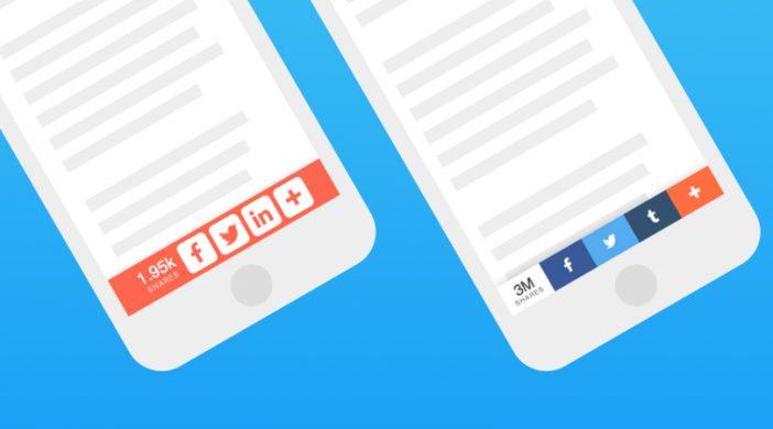 Thêm icon mạng xã hội vào WordPress