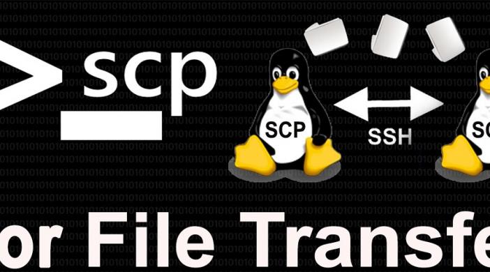 Làm thế nào sử dụng SCP command để chuyển file