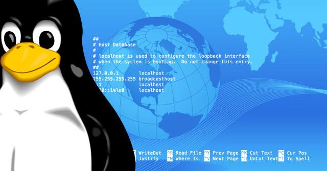 Thay đổi File Hosts và Hostname trên Linux