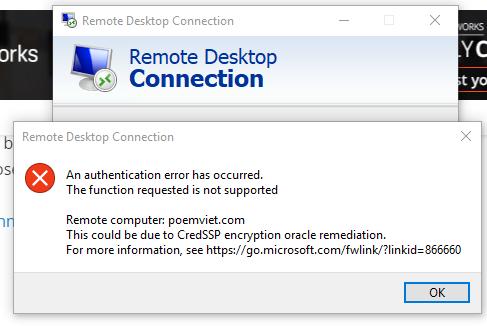 Khắc phục những lỗi xảy ra khi bạn thuê server