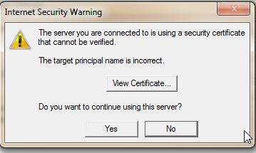 """Xử lý lỗi thông báo""""Server Incorrect""""? dịch vụ email tên miền"""