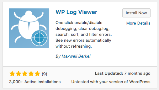 wp-log-viewer