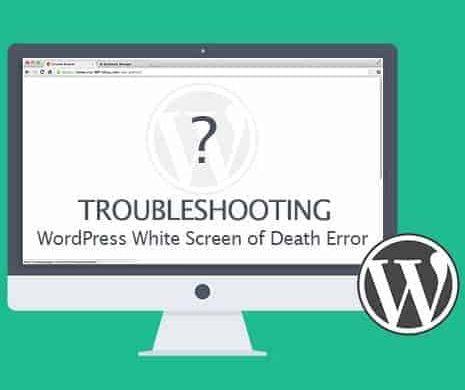 Trang web bị trắng sau khi thay đổi chủ đề và cách khắc phục