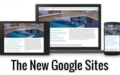 Cách chuyển googlesite phiên bản cũ sang phiên bản mới