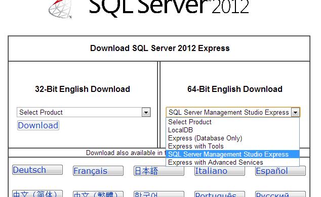 Cách cài đặt SQL Server 2012 Express trên Windows Server 2012