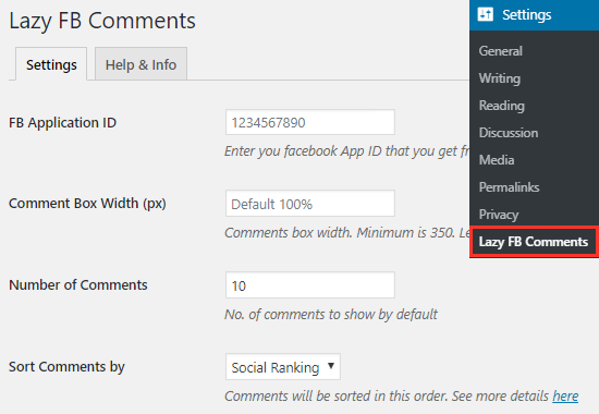 lazy-fb-comments-plugin-settings-page