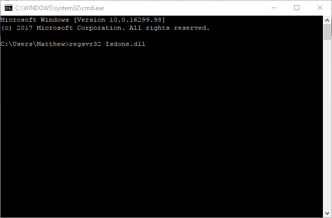 windows-10-isdone.dll-error-10
