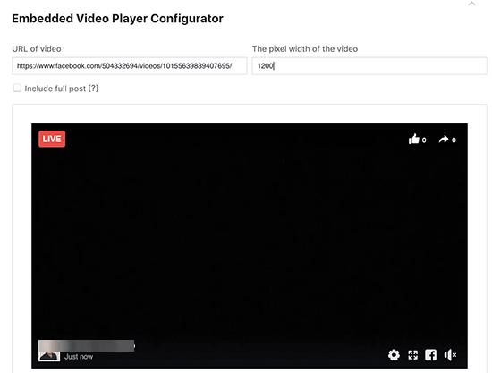 livevideoembedcode