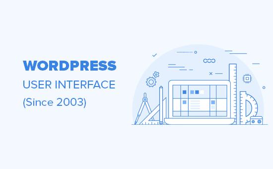 Sự phát triển của giao diện người dùng WordPress (2003 - 2019)